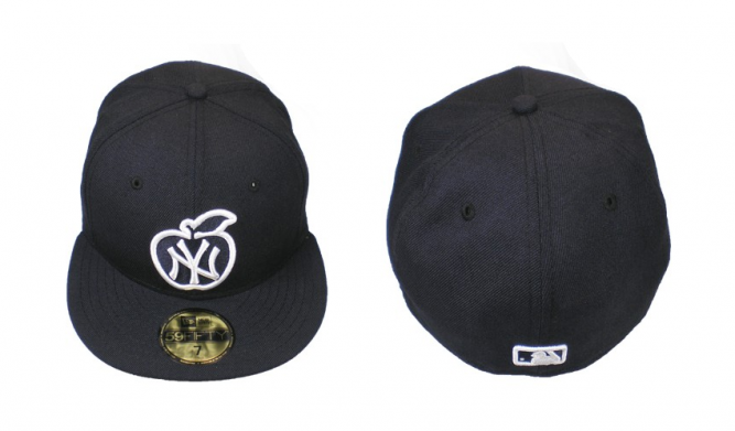 New york yankees apple jf exclusive new era cap navy