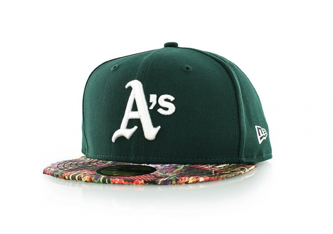 new era SNAKE VISOR OAKLAND ATHLETICS 1