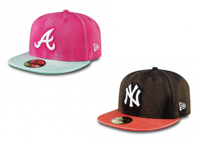 Bleach Over NY Yankees atlanta braves 59FIFTY