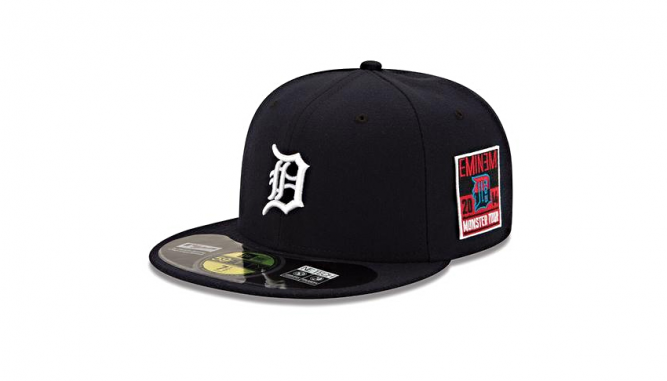 New Era Detroit Tigers x Eminem 59FIFTY