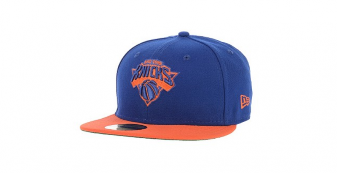 new era new york knicks logo invert nba team basketball