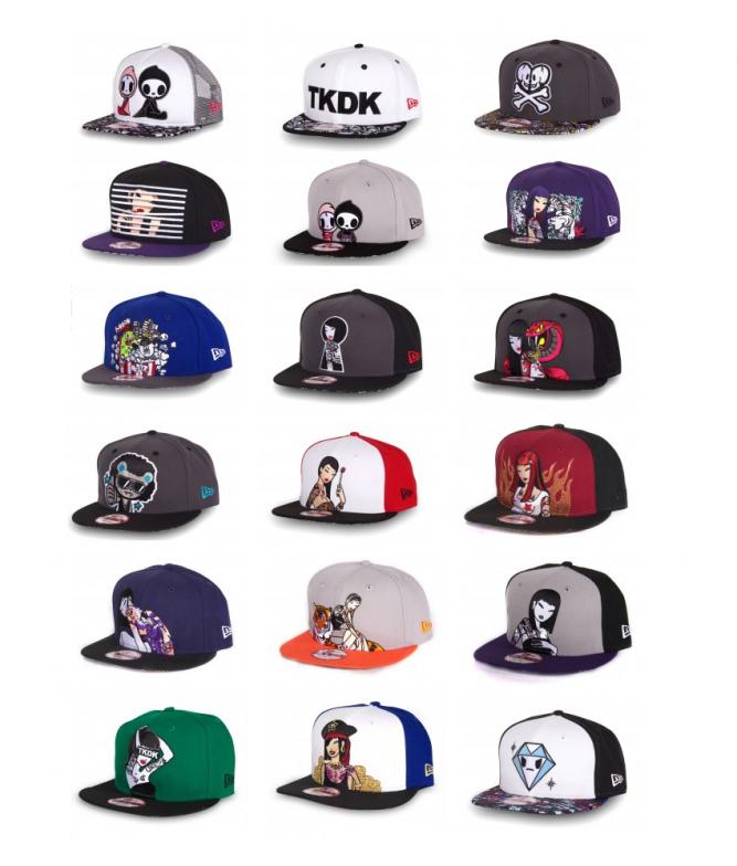 new-era-tokidoki-9fifty-collection-2014
