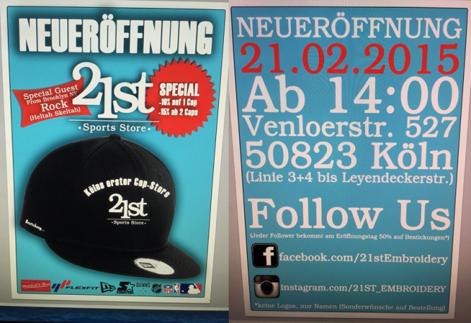 TwentyFirst-Embroidery-Store-cap-shop-köln-cologne