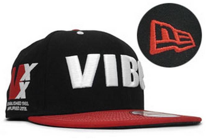 New Era x Vibe Amazing store Fitted Capaddicts