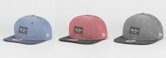 new-era-snapback-cap-9fifty-two-tone-chambray-patch-grey