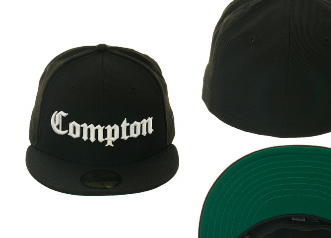 2b8344749aa ... snapback black hat by new era 6ada4 44dc9  clearance new era  compton59fifty fitted cap new era compton 59fifty oldschool hip hop fitted  ab711 cd779
