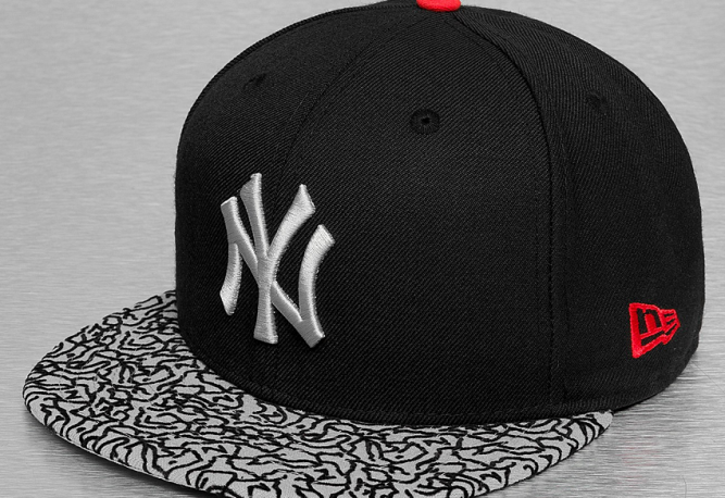 new-era-ny-yankees-59fifty-cap-black-elephant-print-jordan-3-black-cement