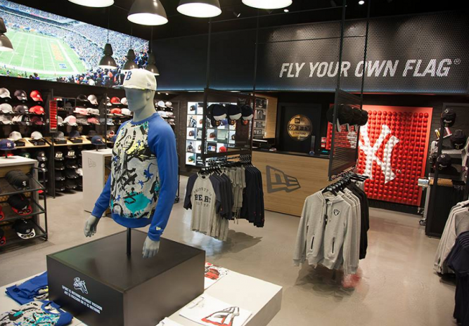 The New Era Westfield Stratford City store has officially re-opened