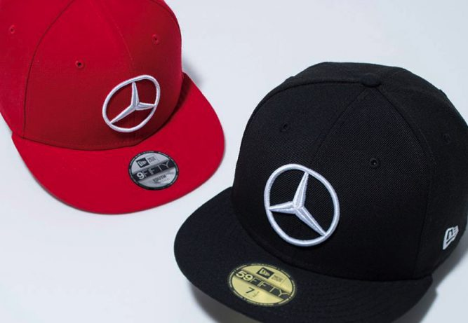 New era x mercedes benz collection capaddicts for Mercedes benz snapback
