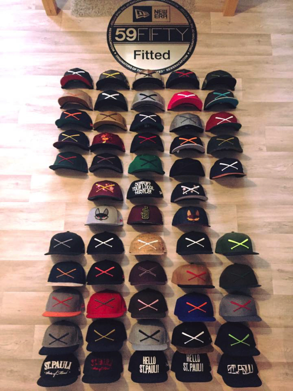 Priscilla Puzicha justfitteds cap collection