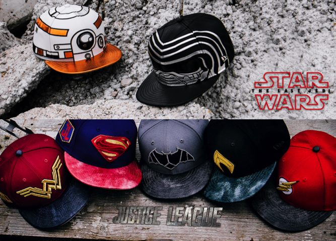 new-era-star-wars-justice-league-cray-hats