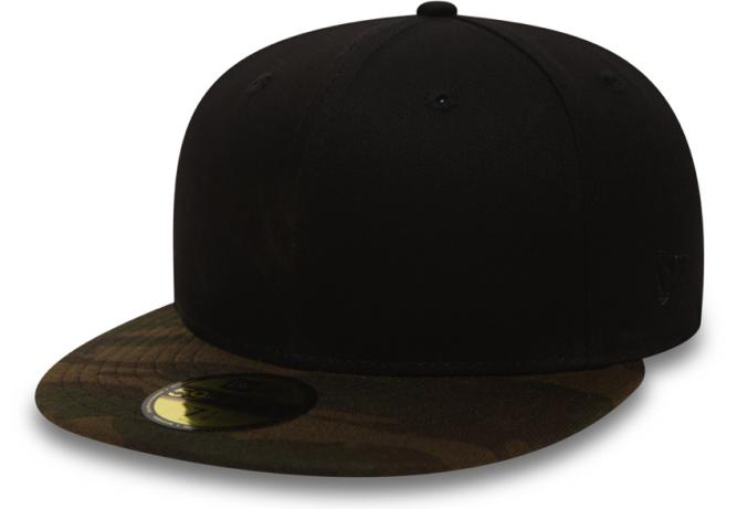 new-era-cap-blank-59fifty-schwarz-camouflage