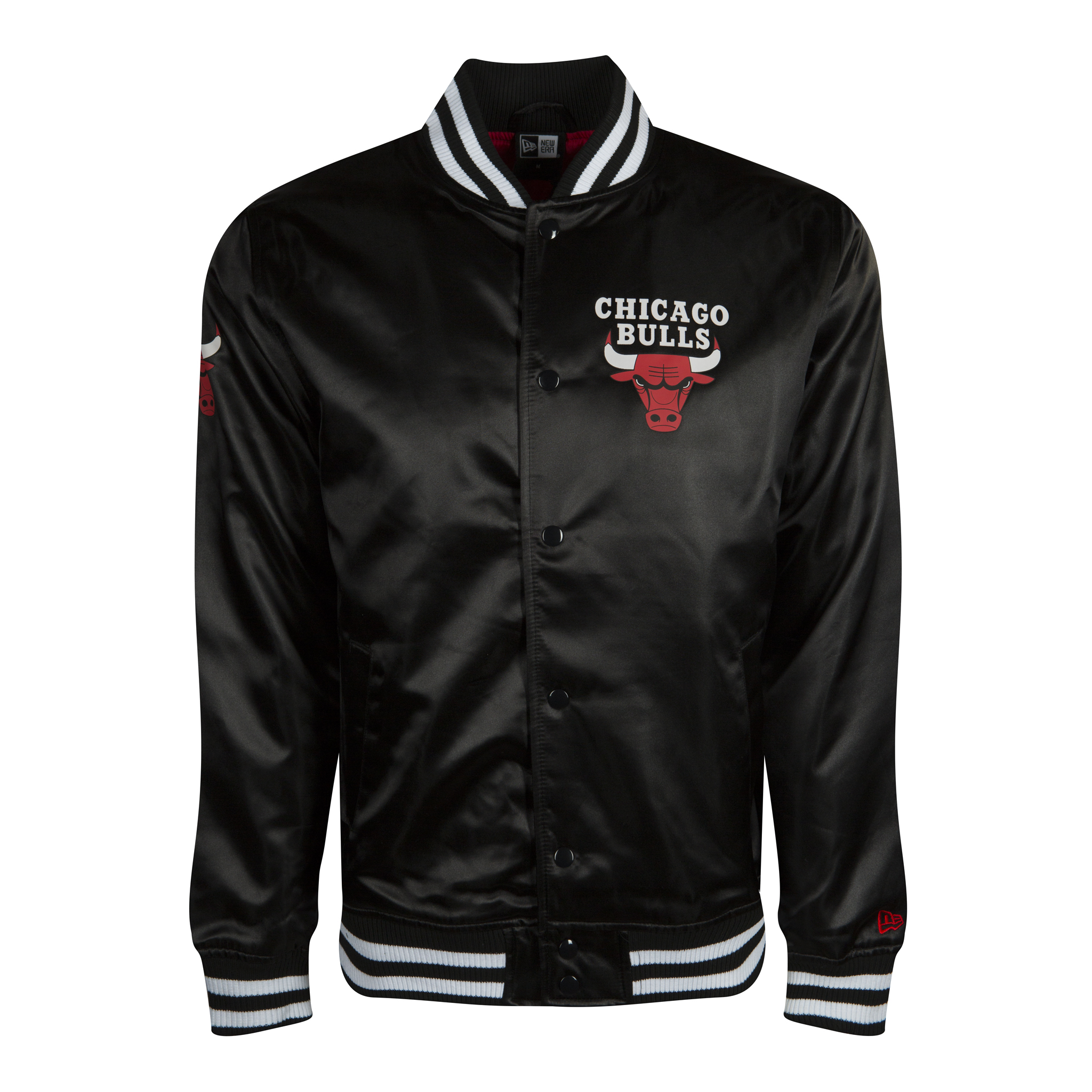 CHICAGO BULLS SATEEN VARSITY JACKET
