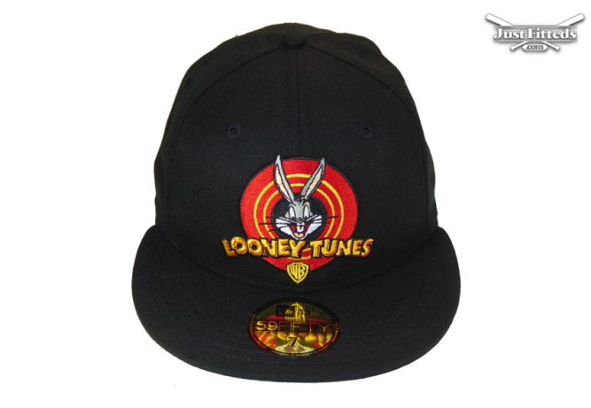 looney-tunes-WB-bugs-jf-custom-new-era-cap-black