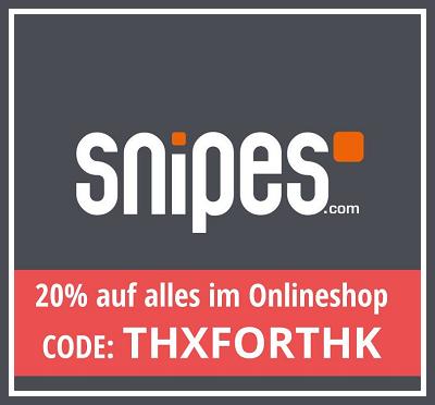 Snipes gutschein code november