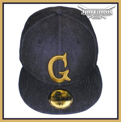 New Era 59FIFTY Denim G Acapulco Gold Fitted Baseball Cap